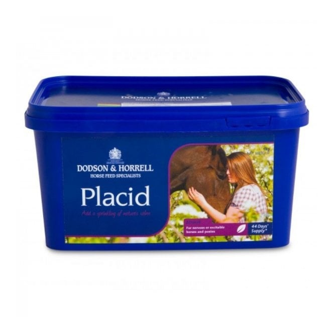Dodson & Horrell Placid 1Kg - Calming Horse Supplement