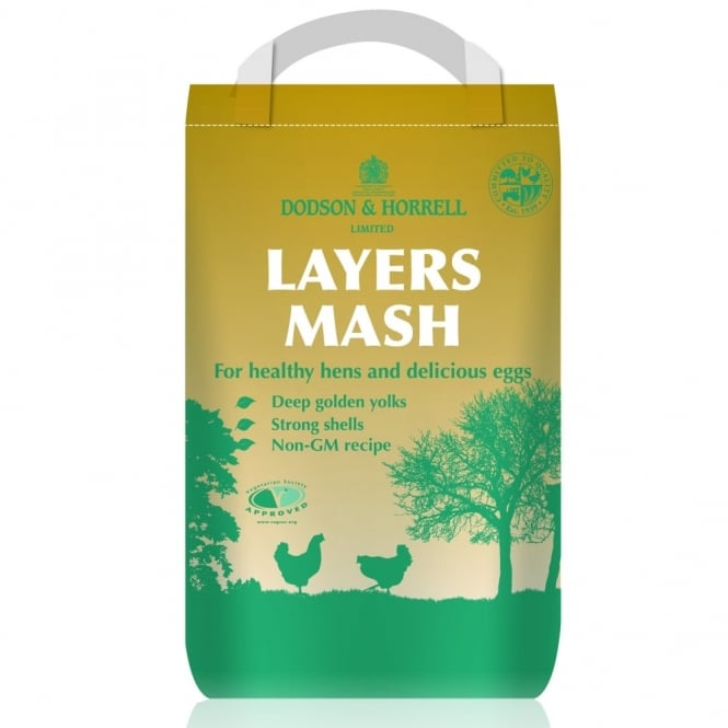 Dodson & Horrell Poultry Layers Mash 5Kg Poultry Food
