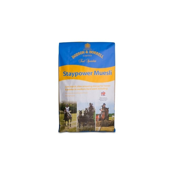 Dodson & Horrell Staypower Muesli 20Kg - Horse Feed