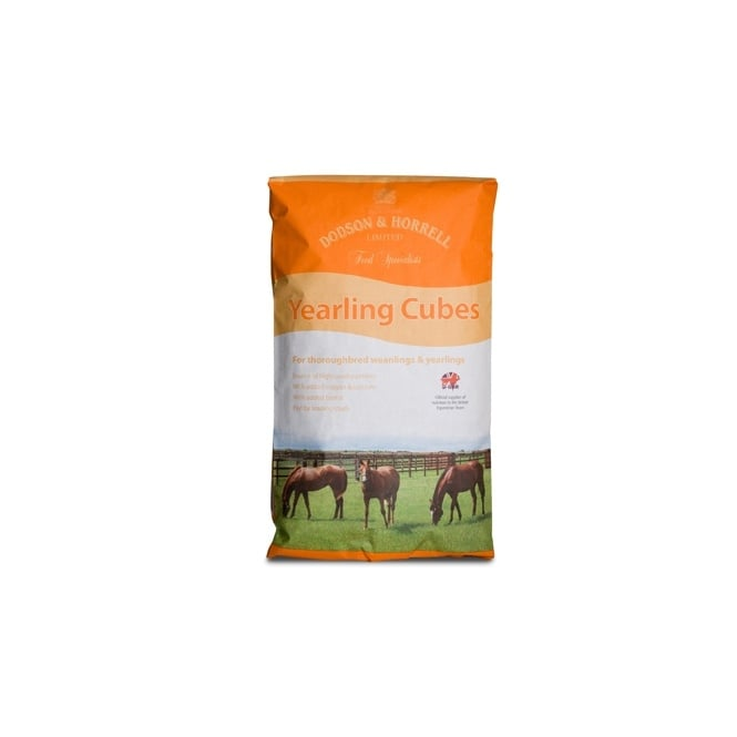 Dodson & Horrell Yearling Cubes 20Kg - Horse Feed