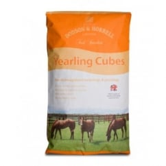 Yearling Cubes 20Kg - Horse Feed