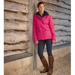 Adda Waterproof Ladies Jacket Fuchsia