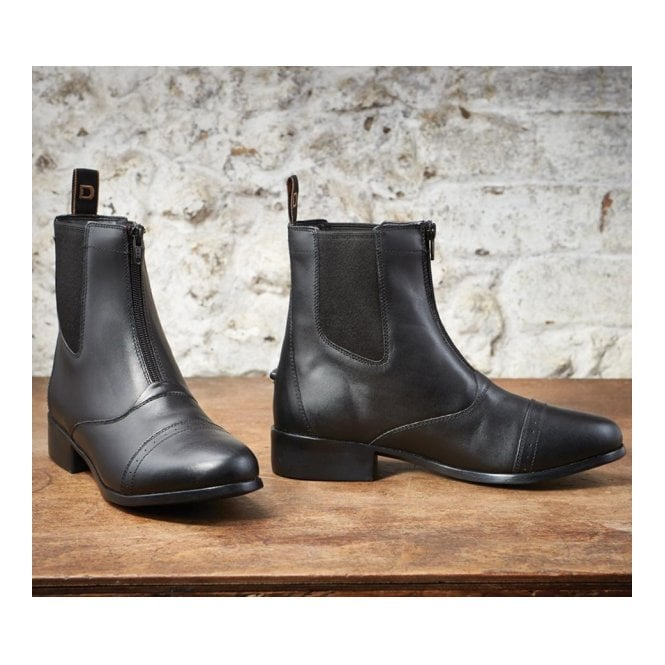Dublin Elevation Zip Jodhpur Boots Black
