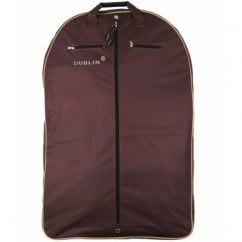 Dublin Imperial Coat Bag Chocolate/Cream - Riding Jacket Bag
