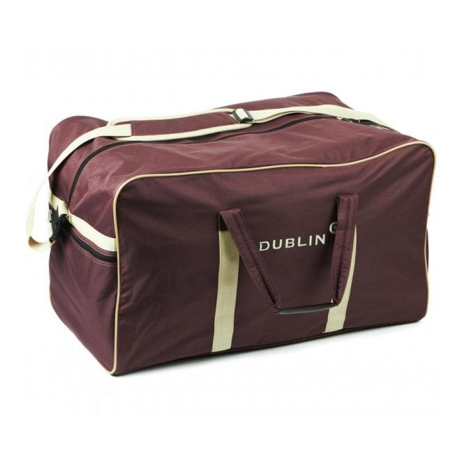 Dublin Imperial Holdall Bag Chocolate/Cream