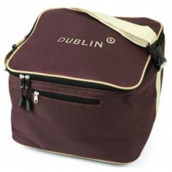 Dublin Imperial Riding Hat Bag Chocolate/Cream