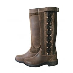 Pinnacle Riding Boots - Chocolate Brown