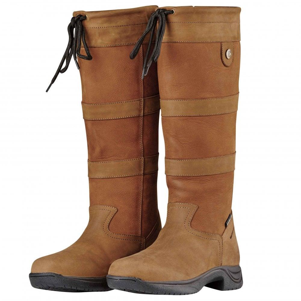 Dublin River Boots Iii Tan Wide Fit At Burnhills