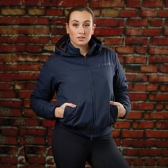 Trinity Ladies Waterproof Jacket Navy