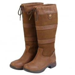 Waterproof River Tall Boots Dark Brown