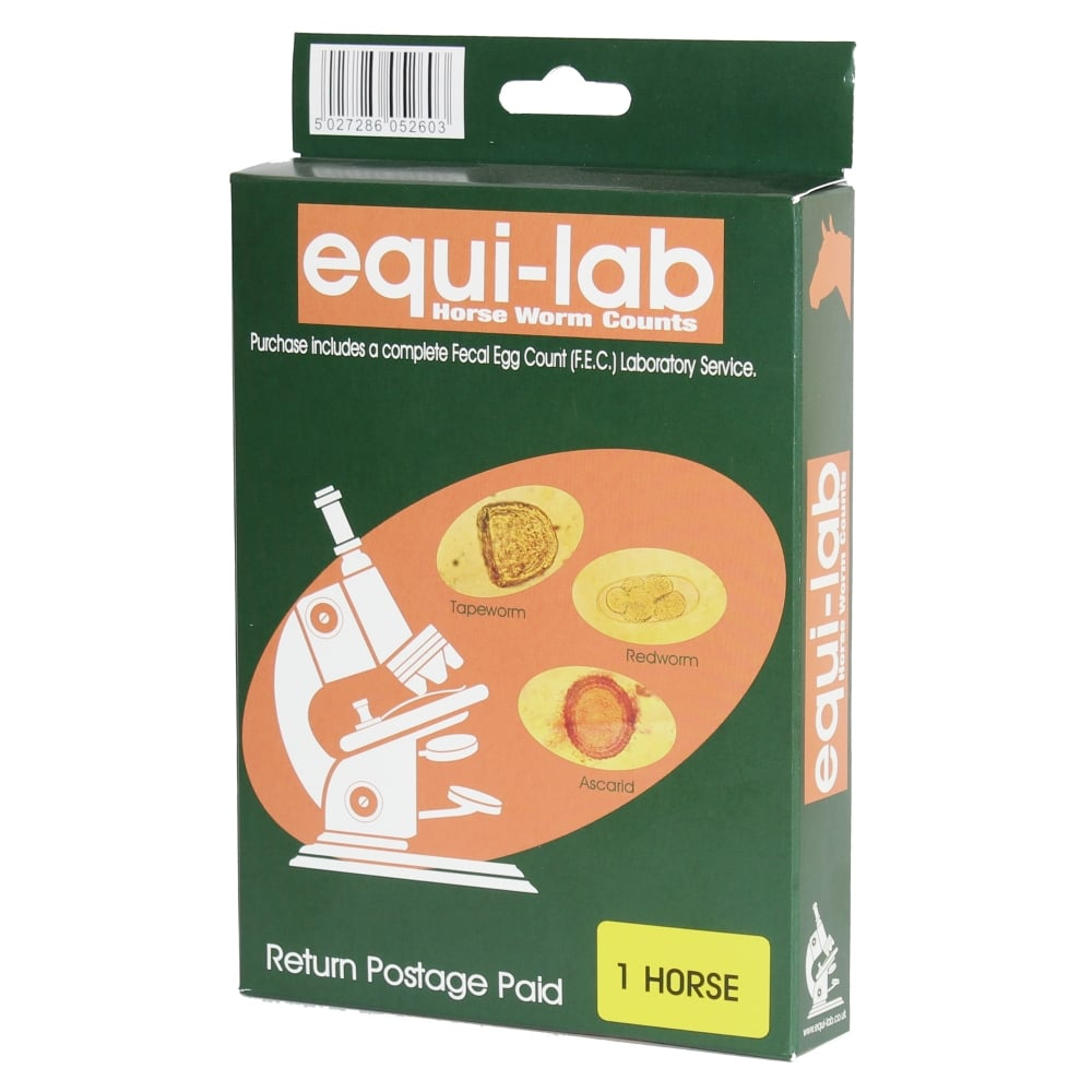 Equi-Lab Horse Worm Count Kit - 1 Horse