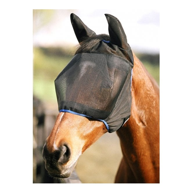 Equilibrium Field Relief Midi with Ears Fly Mask Black