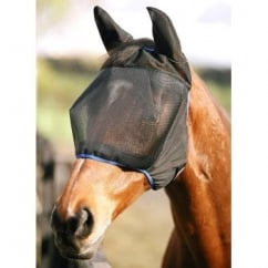 Field Relief Midi with Ears Fly Mask Black