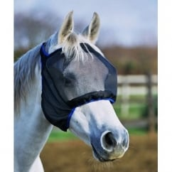 Field Relief Midi without Ears Fly Mask Black