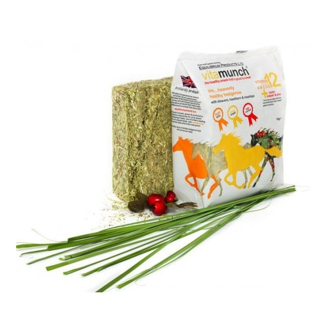 Equilibrium Vitamunch Heavenly Hedgerow 1Kg - Horse Snack / Treat