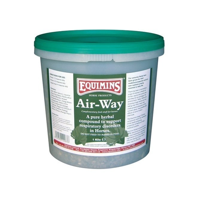 Equimins Air-Way Herbs - Horse Supplement 1Kg