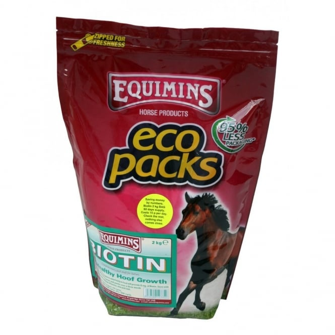 Equimins Biotin Refill Eco Pack 2Kg - Horse Supplement