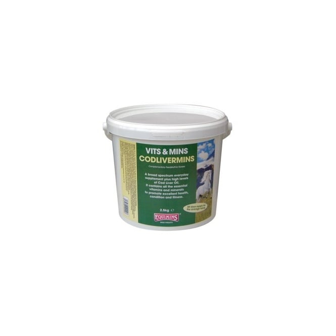 Equimins Codlivermins 2.5Kg - Horse Supplement