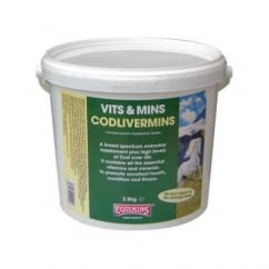 Codlivermins 2.5Kg - Horse Supplement