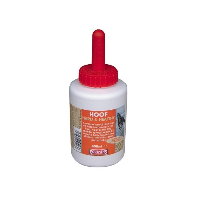 Equimins Hard & Healthy Hoof Hardner 400ml
