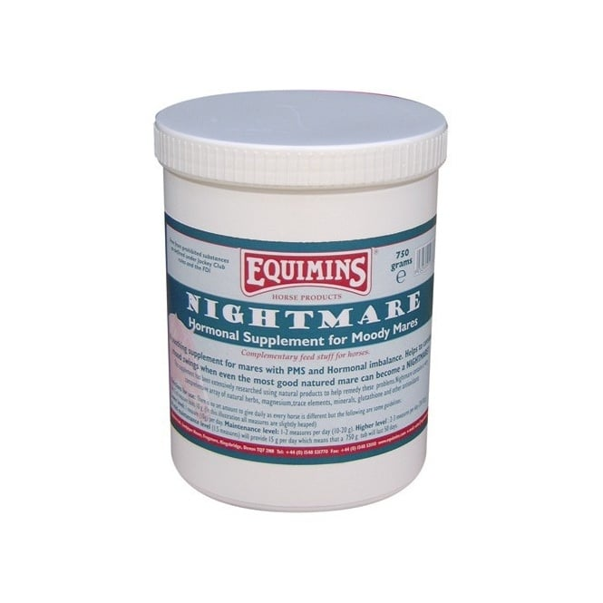 Equimins Nightmare Hormonal Mare Supplement 750g