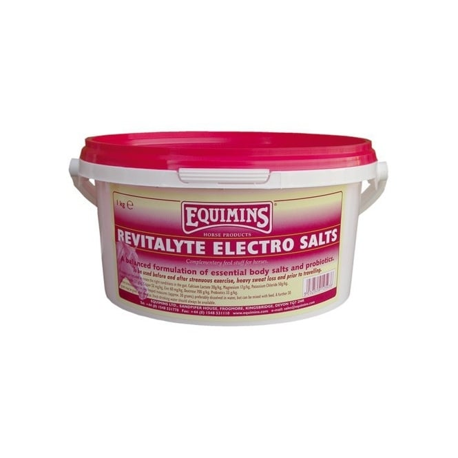 Equimins Revitalyte Electro Salts 1Kg - Electrolyte Horse Supplement