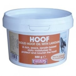Solid Hoof Oil with Lanolin 500g - Horse Hoof Oil
