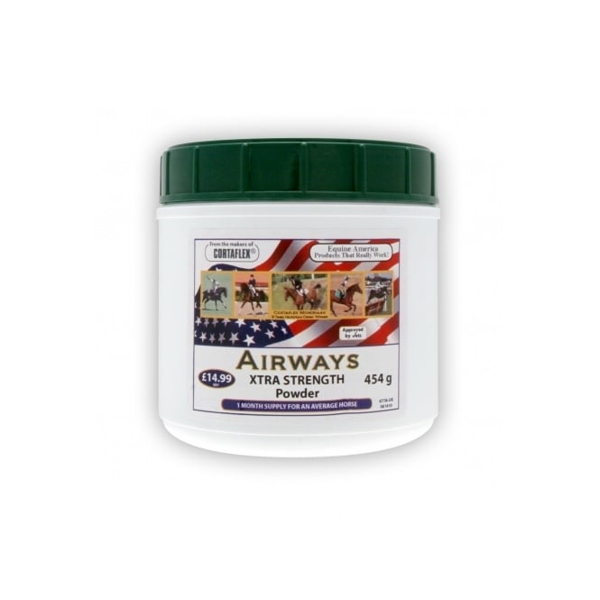 Equine America Airways Powder - Horse Supplement 454g