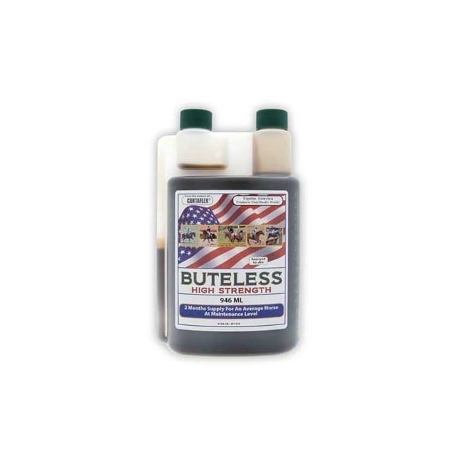 Equine America Buteless High Strength Solution 946ml