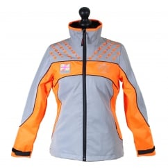 Charlotte Dujardin Mercury Reflective Jacket Orange