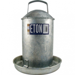 Galvanised Traditional Poultry Drinker 2 Gallon (9 Ltr)