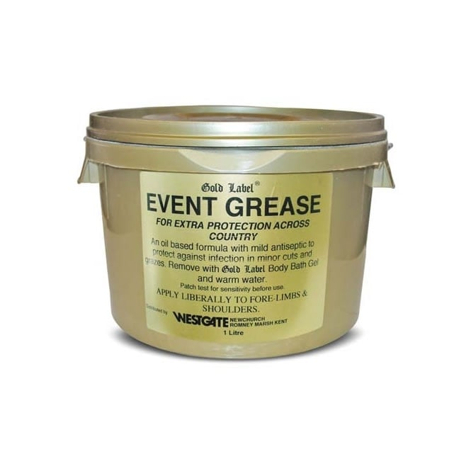 Gold Label Event Grease for Horses 1Ltr