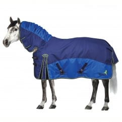 Fieldmasta 200g Fixed Neck Turnout Navy & Royal