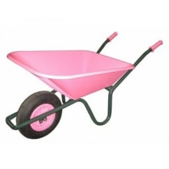 FORT Cosmo 90Ltr Pink Wheelbarrow