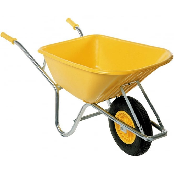 FORT Site Shifter 500 Heavy Duty Wheelbarrow Yellow