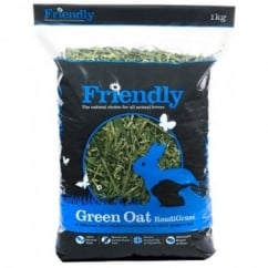 Friendship Estates Friendly Green Oat ReadiGrass 1Kg - Complementary Rabbit Food