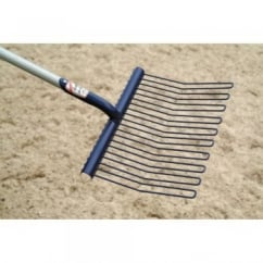 Rubber Matting Stable Fork With D-Handle