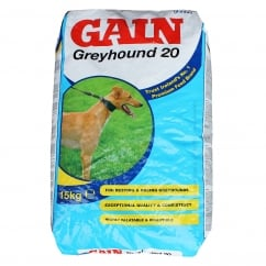 Greyhound 20 Complete Greyhound Dog Food 15Kg