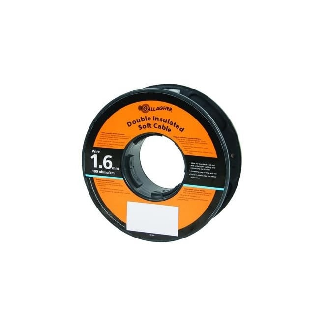 Gallagher Double insulated 1.6mm lead-out cable - 25m
