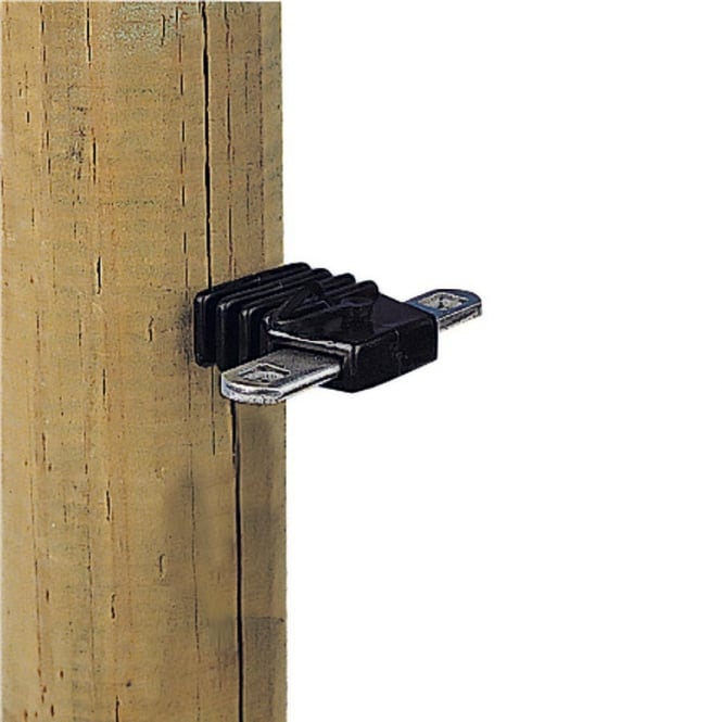 Gallagher Electric Fence Gate Handle Anchor Square 4 Pack
