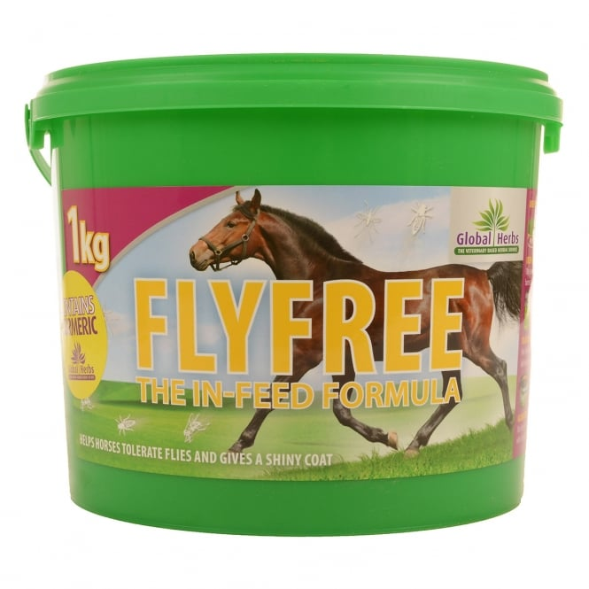 Global Herbs Fly Free 1Kg - Horse Supplement