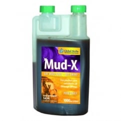 Global Herbs Mud-X Liquid - Horse Supplement 1Ltr
