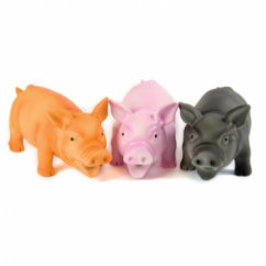 Doggy Dolittles Micro Pig Dog Toy 3.5