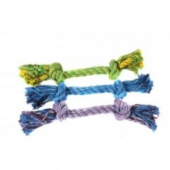 Flossin Fun 2 Knot Rope Dog Toy
