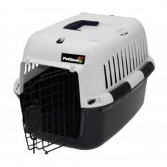 Petgear Pet Carrier - Black & White