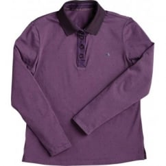 Belby Ladies Polo Shirt Aubergine