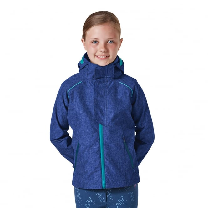 Harry Hall Bexwell Junior Waterproof Jacket Cobalt