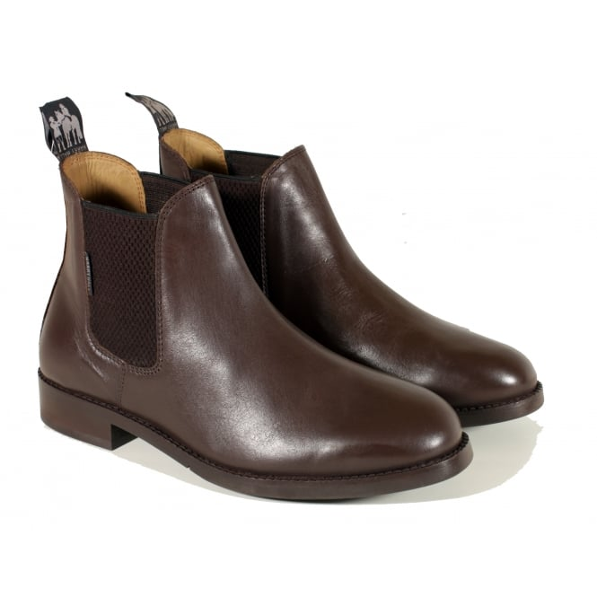 Harry Hall Buxton Junior Jodhpur Boot Brown