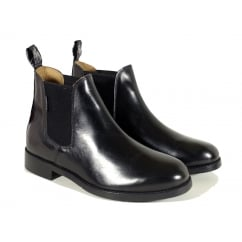 Buxton Junior Jodhpur Boots Black