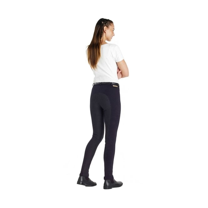 Harry Hall Chester Sticky Bum Ladies Jodhpurs Regular - Navy